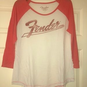 Fender long sleeve T-shirt